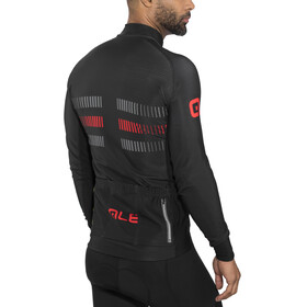 Alé Cycling PRR 2.0 Strada LS Jersey Men Black-Red